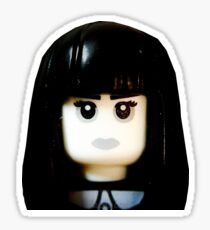 The Goth Girl is here Sticker