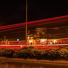 Roundabout.Taillights. by Murray Wills