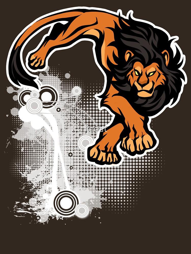 Lion pounce by jccat