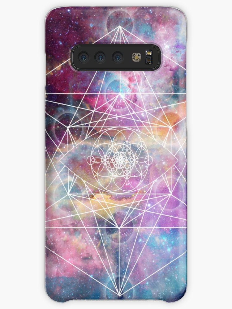 a7fbb18bf9bf 'Watercolor and nebula sacred geometry ' Case/Skin for Samsung Galaxy by  InovArtS