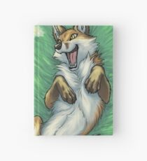 Playful foxes Hardcover Journal
