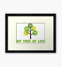 Programming tree of life Framed Print
