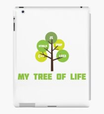 Programming tree of life iPad Case/Skin