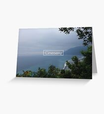Cinesery x 2016 Spring Edition x Vacation Greeting Card