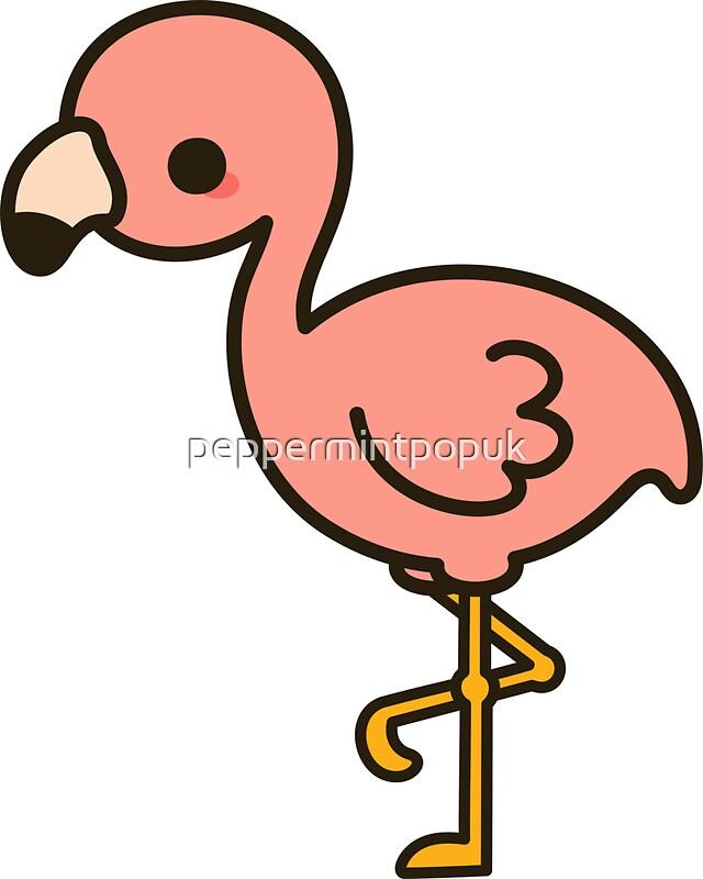 Cute Flamingo Stickers Redbubble