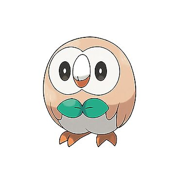 rowlet by StrangeEd