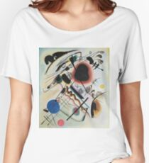 Kandinsky - Black Spot 1921  Women's Relaxed Fit T-Shirt