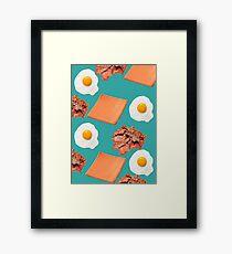 Breakfast Framed Print