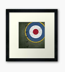 RAF - Pillow Framed Print