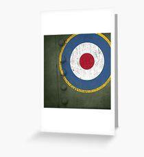 RAF - Pillow Greeting Card