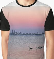 Swan River Perth Western Australia  Graphic T-Shirt