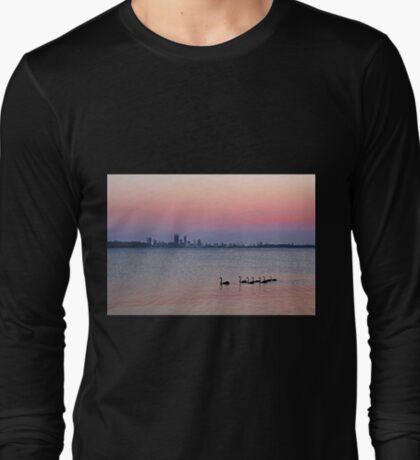 Swan River Perth Western Australia  T-Shirt
