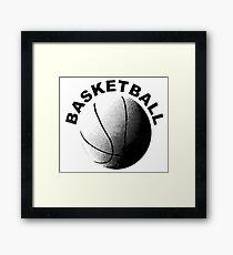 BASKETBALL - SPORTS Framed Print