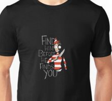 Where's Wally: Find Him Unisex T-Shirt