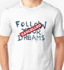 Banksy - Follow your dreams (part) T-Shirt