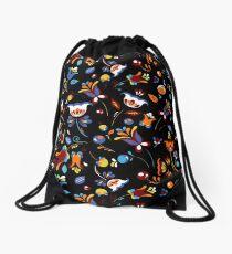 Hohloma style  Drawstring Bag