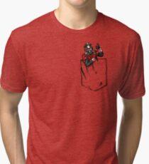 Ant Man in Pocket Tri-blend T-Shirt