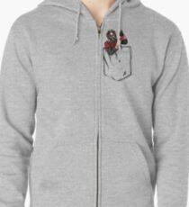 Ant Man in Pocket Zipped Hoodie