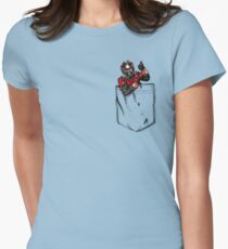 Ant Man in Pocket Womens Fitted T-Shirt