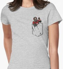 Ant Man in Pocket Women's Fitted T-Shirt