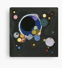 Kandinsky - Several Circles (Einige Kreise) Canvas Print