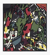 Kandinsky - The Archer Photographic Print