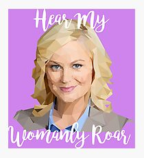 Leslie Knope Photographic Print