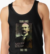 Frank James: banks are the real crooks Tank Top
