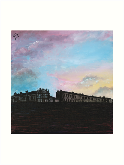 Priory Road at Dusk by SlideRulesYou