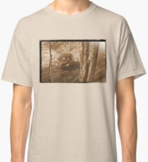 """""""Along Time Warp Road""""... prints and products Classic T-Shirt"""