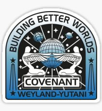 BUILDING BETTER WORLDS (COVENANT) Sticker