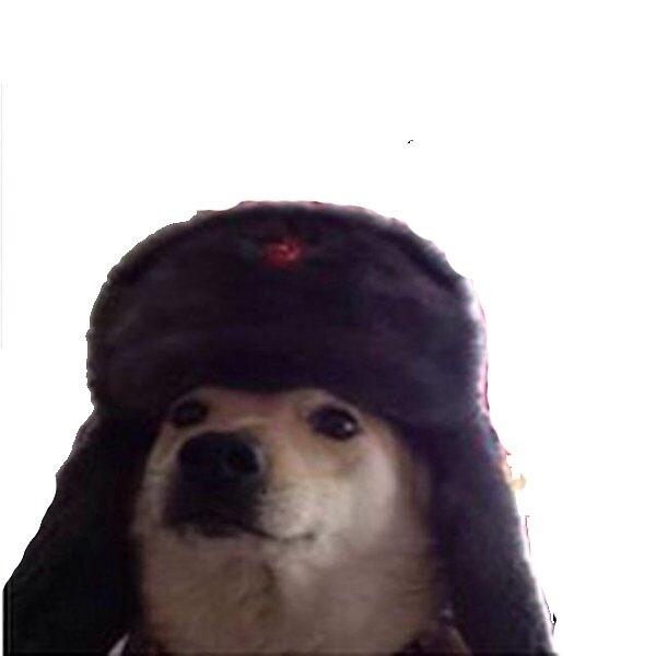 """Soviet Doggo Sticker"" Stickers by Scoot11 | Redbubble"