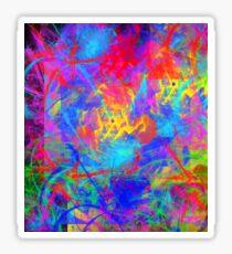 Color Chaos Sticker