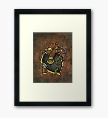 Iron Heart Framed Print