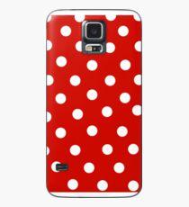 Polka Dot Case/Skin for Samsung Galaxy