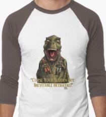 "Firefly: ""Curse your sudden but inevitable betrayal!"" Men's Baseball ¾ T-Shirt"