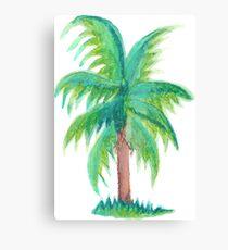 Green Palm Canvas Print