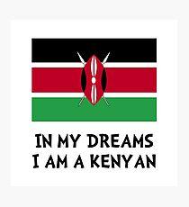 Dream Kenyan Photographic Print