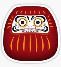 Japan 1 - Daruma Sticker