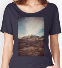 Mountains in the background XVII Women's Relaxed Fit T-Shirt