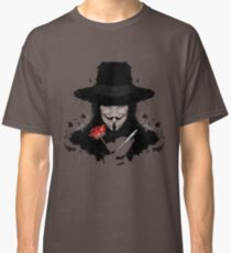 V For Vendetta Classic T-Shirt