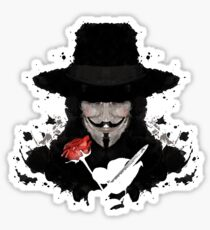 V For Vendetta Sticker