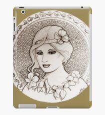 graphic art nouveau iPad Case/Skin
