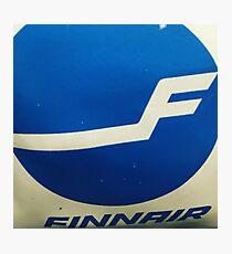 FinAir bag Photographic Print