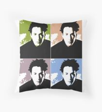 Keanu Reeves in the Matrix, 4 Colors Throw Pillow