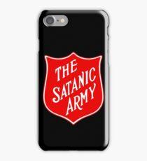 Satanic Army Salvo Shield iPhone Case/Skin