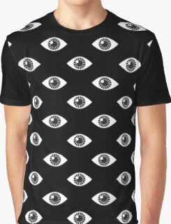 Eyes Wide Open - on Black Graphic T-Shirt
