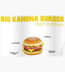 Big Kahuna Burger Poster