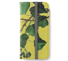 ivy leaves iPhone Wallet/Case/Skin