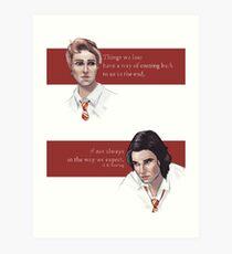 Remus and Sirius Art Print